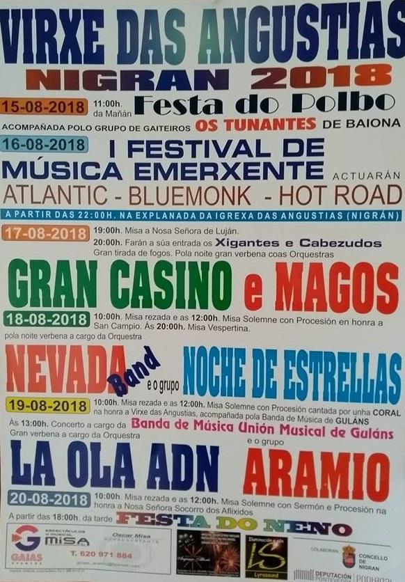 Festas da Virxe das Angustias @ Torreiro das Angustias