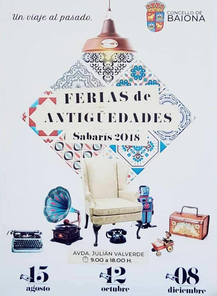 Feira de Antigüidades @ Avda. de Julián Valverde (Sabarís) | Galicia | España