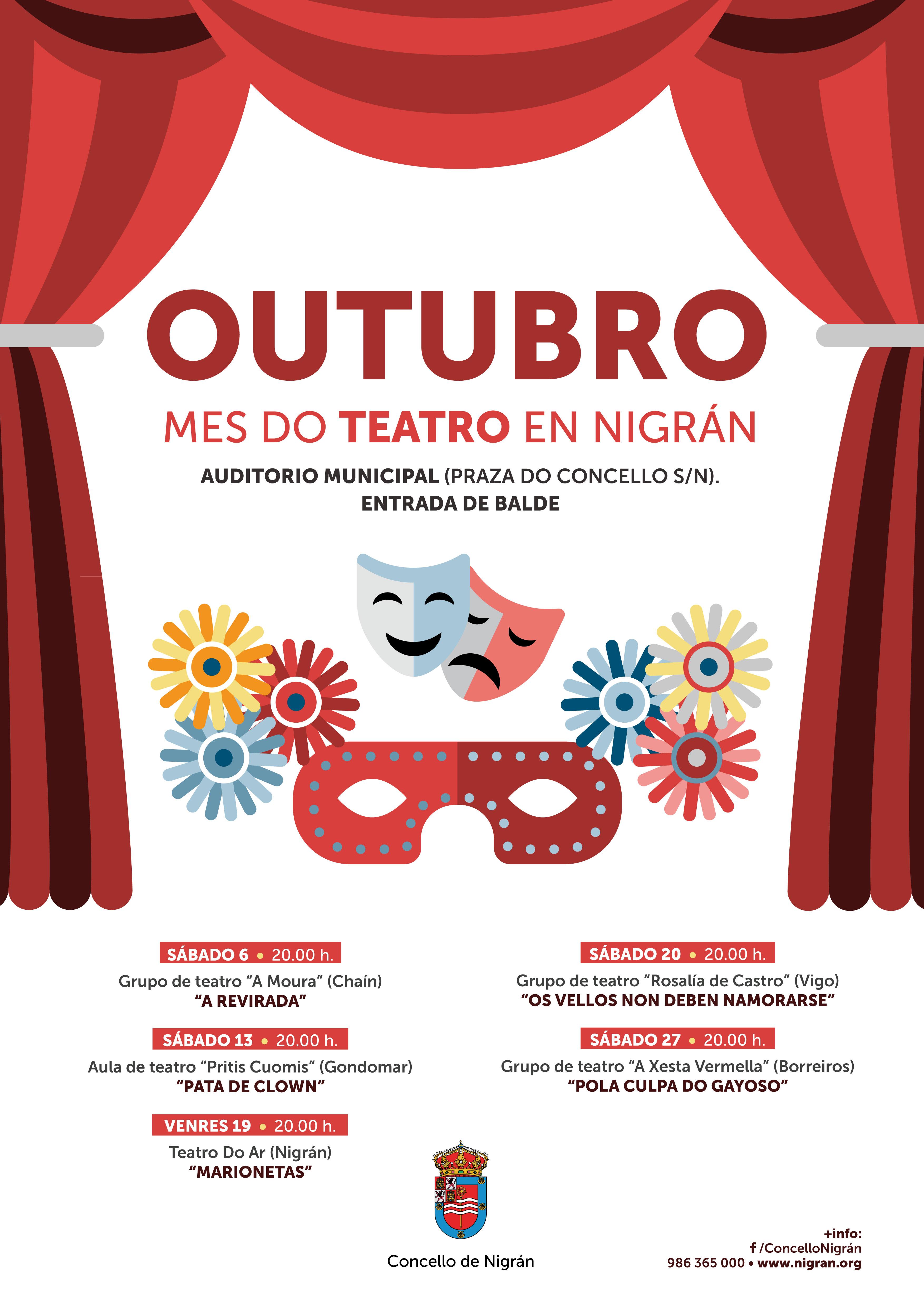 """Obra de Teatro """"Marionetas"""" @ Auditorio Concello de Nigrán"""