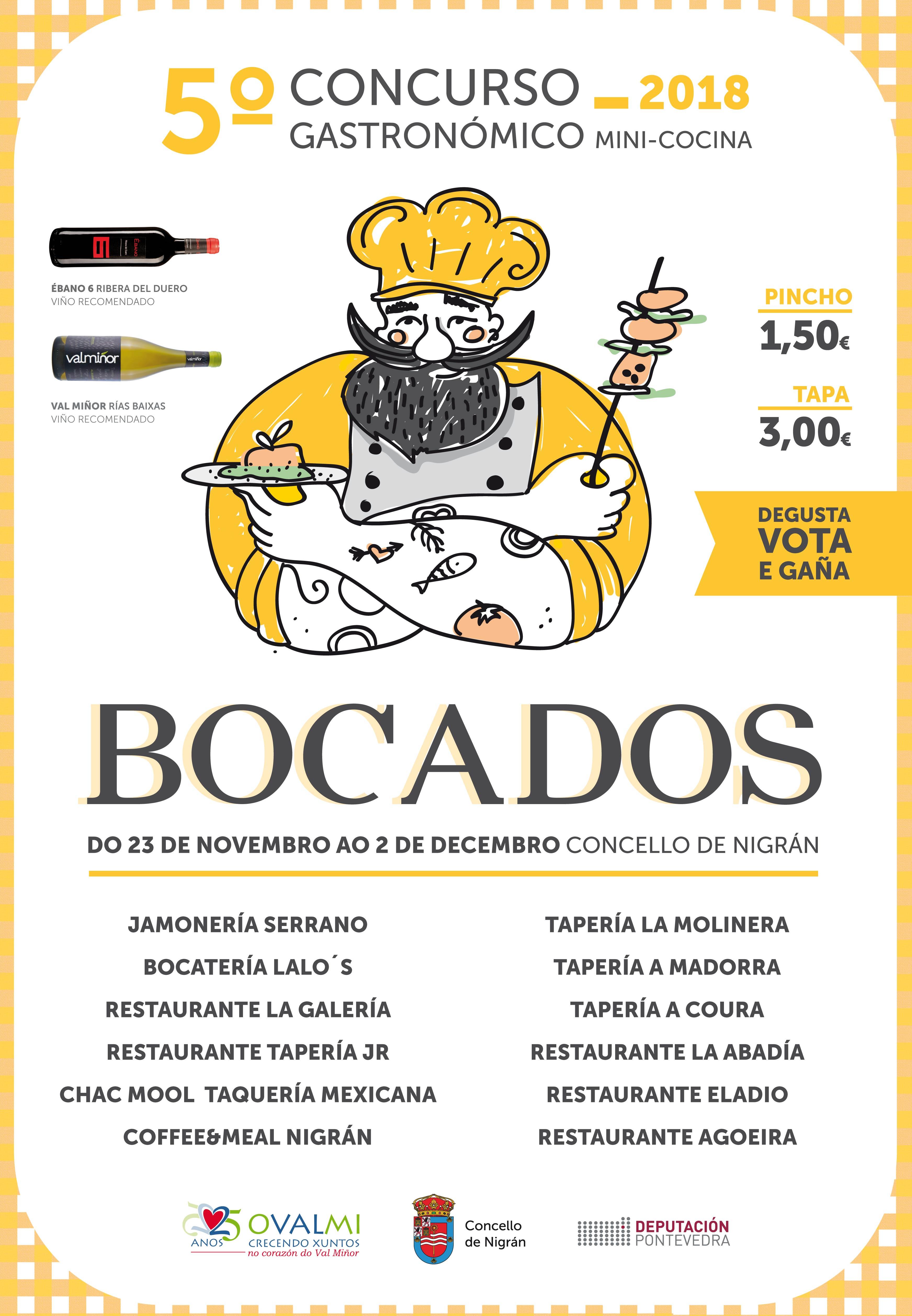 "Concurso Gastronómico ""Bocados"" @ Nigrán"
